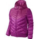 Dámská zimní bunda - Nike CASCADE JACKET-700 HOODED vínová L