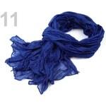 Šála 100x185 cm mačkaná (1 ks) - 11 modrá safírová Stoklasa