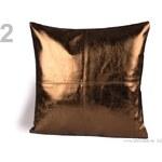 Povlak na polštář 40x40cm se zipem prošitý (1 ks) - 2 hnědá sv. Stoklasa