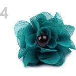 Prsten květ (1 ks) - 4 tyrkys Stoklasa