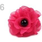 Prsten květ (1 ks) - 6 růžová malinová Stoklasa
