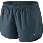 Nike MOD TEMPO EMBOSS RUN SHORT tm.modrá L