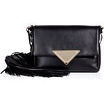 Sara Battaglia Leather Shoulder Bag