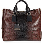 Burberry Shoes & Accessories Embossed Callaghan Leather Tote