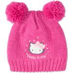 Mädchen Strickmütze in pink / pink von C&A