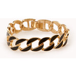 FOREVER21 Cool-Girl Lacquered Chain Bracelet