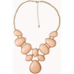 FOREVER21 Bejeweled Bib Necklace