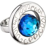 Preciosa Prsten Beryl Bermuda Blue 7096 46 57 mm