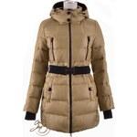 Snowimage zlatá péřová bunda