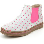 Marks and Spencer Suede Heart Print Chelsea Boots