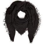Faliero Sarti Wool-Cashmere Silk Square Scarf