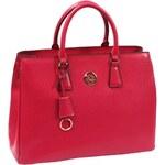 Septwolves Elegantní červená kožená business kabelka 22024031-04 AKCE
