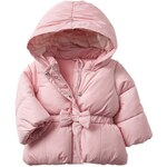 Gap Warmest Bow Puffer - Icy pink