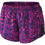 Nike PRINTED MODERN TEMPO SHORT růžová L
