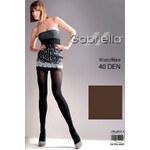Punčochové kalhoty Gabriella Microfibre 40 Den Code 121, hnědá