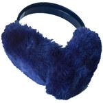 Klapky na uši Soxo 8749, modrá - tmavě, univerzální