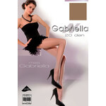 Dámské punčocháče Gabriella Miss Gabriella 20 Den Code 105, hnědá - gazela