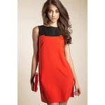 Šaty Nife S25, oranžová, 44