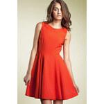 Šaty Nife S26, oranžová