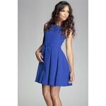 Šaty Figl 83, modrá - tmavě
