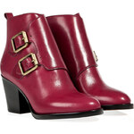 Marc by Marc Jacobs Leather Monk-Style Ankle Boots