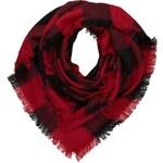 Codello BLOCKCHECKS Tuch dark red