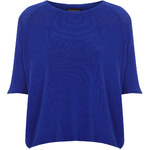 Topshop Knitted Half Sleeve Top