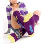 Podkolenky Beast Full Purple - dle obrázku - 5-6 Woox