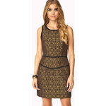 Forever 21 Luxe Brocade Sheath Dress