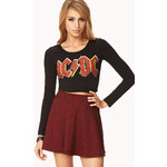 Forever 21 Favorite AC/DC Crop Top