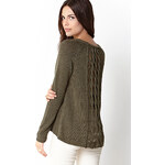 Forever 21 Cozy Open Back Sweater