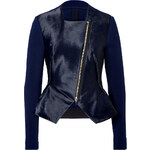 Roland Mouret Haircalf/knit Jacket