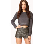 Forever 21 Disco Doll High-Waisted Shorts