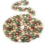 JwL Jewellery Dlouhý perlový náhrdelník multibarevný JL0046