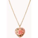Forever 21 Femme Heart Necklace