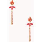 Forever 21 Statement Tassel Earrings