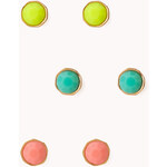 Forever 21 Candy-Coated Stud Set