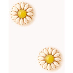 Forever 21 Standout Floral Studs