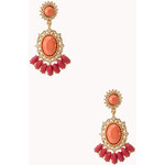 Forever 21 Opulent Drop Earrings
