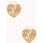 Forever 21 Heartbreaker Filigree Earrings