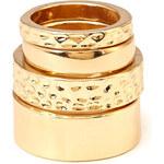 FOREVER21 Darling Dimpled Ring Set