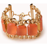 Forever 21 Pretty-Tough Curb Chain Bracelet