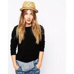 Esprit Straw Trilby Hat - Beige