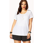 Forever 21 Spiked Tee