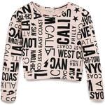 Forever 21 City Girl Cropped Sweatshirt (Kids)