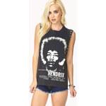 Forever 21 Rock N' Roll Hendrix Muscle Tee