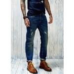 Mango Přiléhavé džínsy slim fit Steve Premium vintage