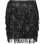 Topshop **Faux Leather Mini Skirt by WYLDR