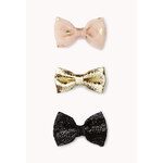 Forever 21 Luxe Hair Bow Set