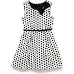 FOREVER21 girls Polka Dot Darling Dress w/ Belt (Kids)